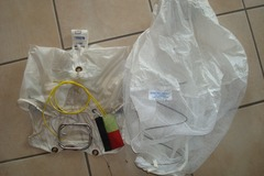 Sell:  pod et extracteur pour voile de secours