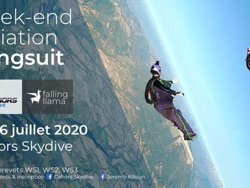 Free event: Initiation/animation wingsuit avec Jeremy Allison