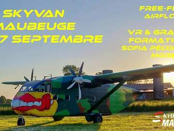 Free event: Pink Skyvan @ Skydive Maubeuge