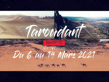 Tickets for the full event only: Morocco Skydive 2021