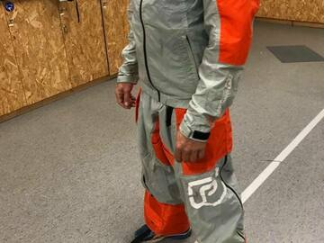 Verkaufen: Tracking suit Pressurized Tube 3